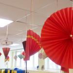 Восточный Новый год в китайском стиле