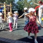 Детский сад открывает двери